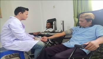 Peringati Hari Sumpah Pemuda, Puskesmas Riau Silip Berhasil Kumpulkan 47 Kantong Darah