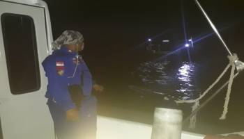 Polair Basel Amankan Tiga Kapal Trawl