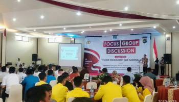 Polres Bangka Gelar Forum Group Discussion, Cegah Paham Radikalisme dan Jaga Nasionalisme