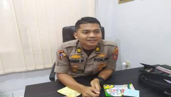 Polres Bangka Tengah Kirim 6 Personil Pengamanan Pelaksanan Sistem Fuel Card di Tiap SPBU