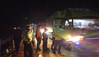 Polres Perketat Masuknya Kendaraan di Bangka Barat