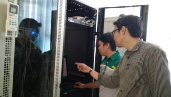 PPIDS UBB Tunggu Sofware dari BIG, Wahri: Kami Siap Optimalkan Perangkat Tersebut!