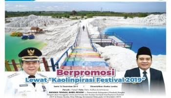 Bangka Tengah Promosikan Potensi Daerah Melalui Event Kaolinpirasi Festival 2019