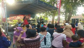PT. Asia Surya Perkasa Toboali Menggelar Roadshow di Desa Parit 8