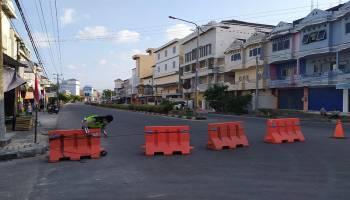 Puncak Akbar Perayaan Sembahyang Rebut, Jalan Utama Koba Ditutup