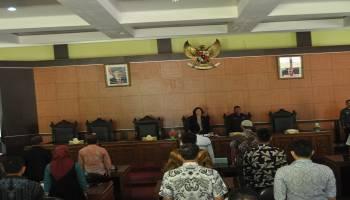 Rapat Paripurna Pertama DPRD Bangka Tengah Hasilkan 4 Fraksi dan 2 Fraksi Gabungan