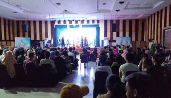 Ratusan Penonton Saksikan Grand Final Bujang Dayang Bangka Tengah 2019