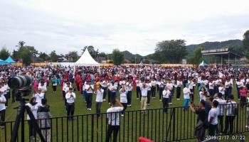 Ribuan Peserta Ramaikan Milenial Road Safety Festival  Polres Bangka