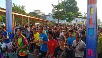 Ribuan warga Sungailiat Ramaikan Pemilu Run 2019