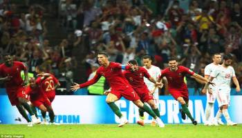 Ronaldo Hat-trick, Portugal Tahan Spanyol 3-3