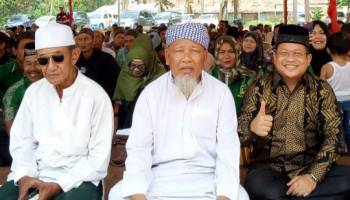 Rudisia Usman Hadiri Istighosah Pemilu Damai