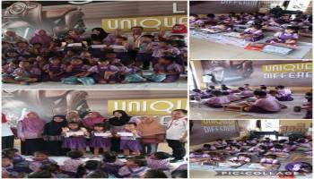 Sambut Imlek 2020, Daya Motor Tempilang Ajak 30 Anak-Anak TK Ikut Lomba Mewarnai