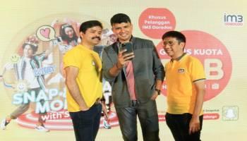 Sasar Milennial, Indosat Ooredoo Luncurkan Paket Snapchat Gratis