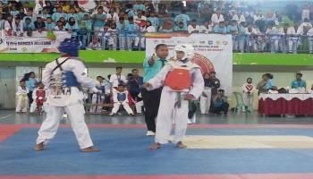 Sekda Apresiasi Kejurnas Taekwondo Piala Gubernur Babel 1 2018