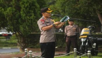 Siapkan 5 Titik Posko Pengamanan Lebaran, Polres Bangka Tengah Terjunkan 60 Personel