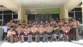SMA 1 Air Gegas Peringati Hari Pramuka