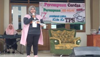 Sosialisasi Pemilu, Relasi KPU Bangka Gelar Ceramah