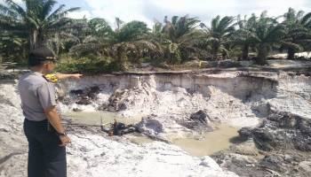 Terkubur 50 Menit, Penambang Asal Jawa Ini Tak Bisa Diselamatkan Lagi