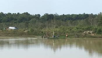 TI Rajuk Ilegal Rambah Sumber Air Baku SPAM Telek Sadai