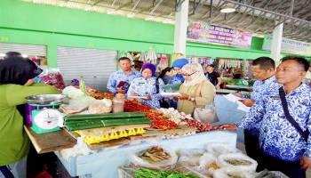 Tidak Ada Lonjakan Harga di Pasar Kite Sungailiat dan Pasar Higienis Pemali