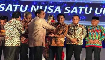 Tutup Tahun 2019, Pemkab Bateng Raih Penghargaan dari Kementrian Perdagangan