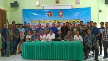 UKW Angkatan VI PWI Babel Sukses, 17 Wartawan Dinyatakan Kompeten