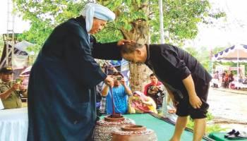 Upacara Adat Mandi Belimau Tradisi Sucikan Diri Sambut Datangnya Ramadhan