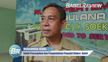 VIDEO Dinas Kesehatan Babel Terus Pantau Pasien Diduga Suspect Corona di RSUP