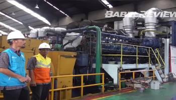VIDEO PLN Babel Sukses Uji Coba Pembangkit Berbahan Bakar CPO di PLTD Merawang
