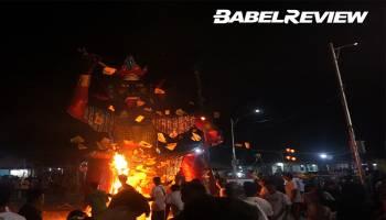 VIDEO Ritual Sembahyang Rebut Masyarakat Tiong Hoa Bangka