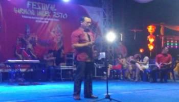 Wakil Bupati Bangka Buka Acara Festival Harmoni Imlek