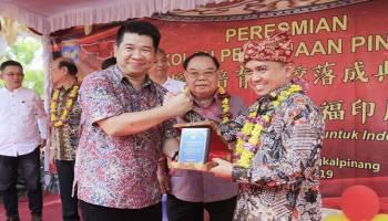 Wali Kota Pangkalpinang Resmikan Gedung Sekolah Pingcung Yayasan Pembinaan
