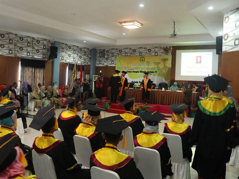 STISIPOL Pahlawan 12 Bangka Gelar Wisuda Sarjana ke VI