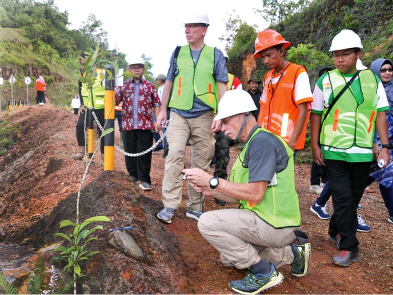 Tim Unesco Global Geo Park Kunjungi Geosite Beltim