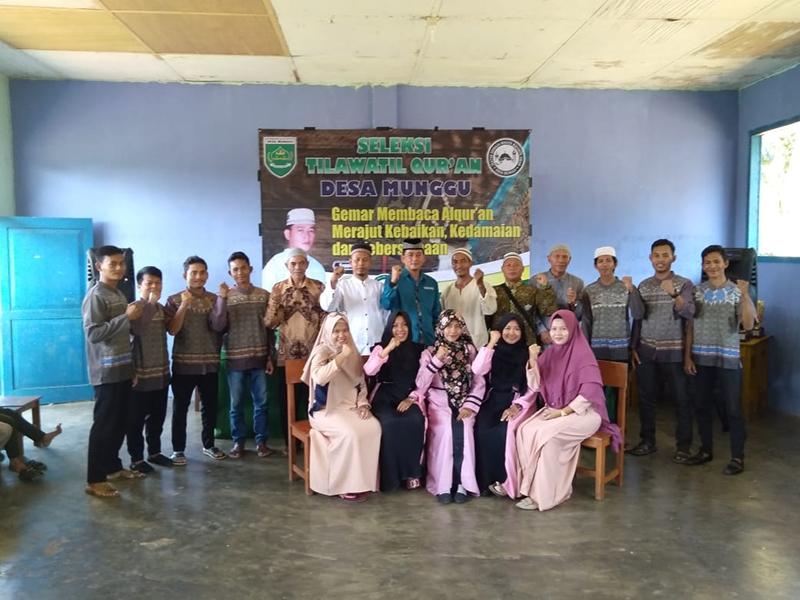 Tumbuhkan Semangat Baca Quran, Pemdes Munggu Gelar STQ Tingkat Desa